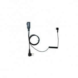 Cabo PTT para Peltor SportTac PTT32 para walkies Motorola com conector PTT32M