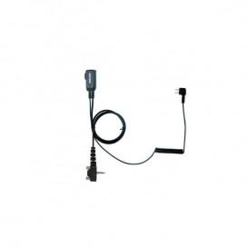 Cabo PTT para Peltor SportTac PTT32 para walkies Yeasu - Segunda versão