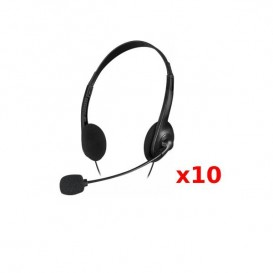 PACK 10: Speedlink Accordo Stereo Preto