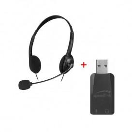 PACK Auriculares Accordo + Adaptador USB