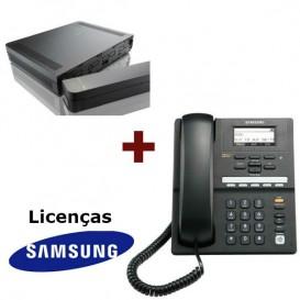 Samsung OfficeServ 7030 + Telefone IP SMT i3105 + Licenças