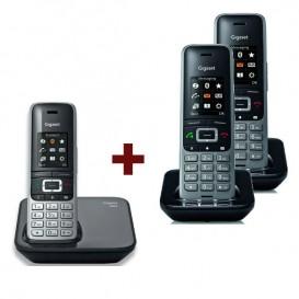 Telefone Gigaset S850 + 2 Terminais S650H