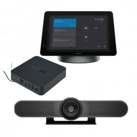 Câmara Logitech Meet-Up + SmartDock + Surface Pro 5 + Extender Box