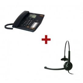 Alcatel Temporis 880 + Auricular Freemate DH037U-GY