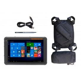 Tablet Thunderbook Titan W100 T1020G Pack: com caneta capacitiva, cabo magnético e suporte 5 em 1