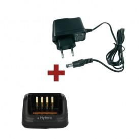 Carregador completo para walkie talkies Hytera
