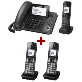 Panasonic KX-TGF310 + 2 Panasonic