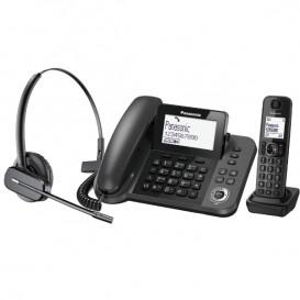 Panasonic KX-TGF310 + auricular sem fios Plantronics C565