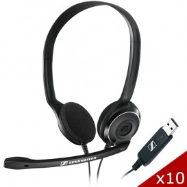 Pack 10 Sennheiser PC 8 USB