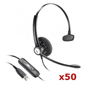 Plantronics Entera Mono USB x 50