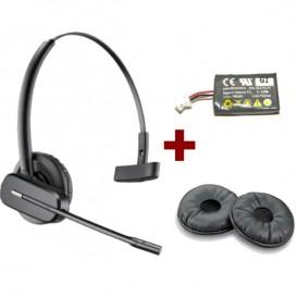 Pack Plantronics CS540 + Almofadas + Bateria