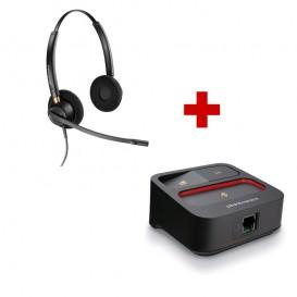 Plantronics Encore Pro HW520 + MDA100 QD