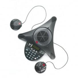 Polycom Soundstation 2 EX + 2 microfones adicionais para Soundstation 2 EX