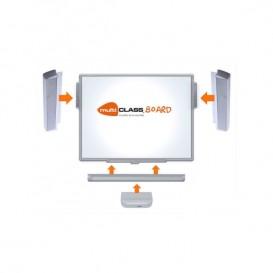 Quadro digital Interativo MultiClass MCI780 + barras de som