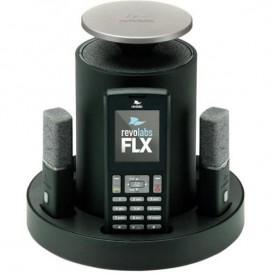 Revolabs FLX2 com 2 micros de gravata