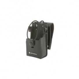 Bolsa de couro duro Motorola para walkie talkies