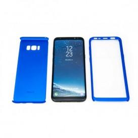 STIKGO Bolsa 360º para Samsung S8 Plus - Azul