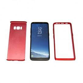STIKGO Bolsa 360º para Samsung S8 - Vermelho