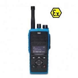 Entel DT885 UHF ATEX com ecrã