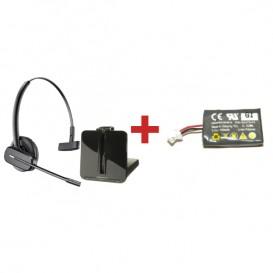 Plantronics CS540 + bateria de substituição