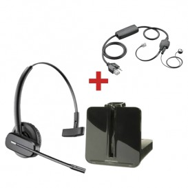 Plantronics CS540 + atendedor para telefone Avaya