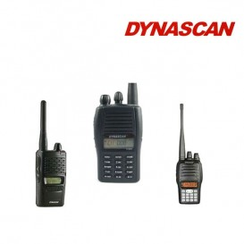 Programação de walkie talkies Dynascan