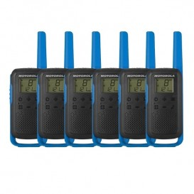 Pack sexteto Motorola Talkabout T62 Azul (3 pares)