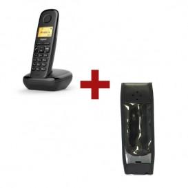 Telefone Gigaset 170 + Bolsa de proteção