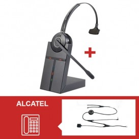 Pack auricular Cleyver HW20 para telefone Alcatel
