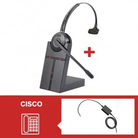 Pack auricular Cleyver HW20 para telefone Cisco Serie 79