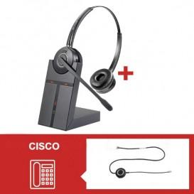 Pack auricular Cleyver HW25 para Cisco Serie 79 - Segunda versão