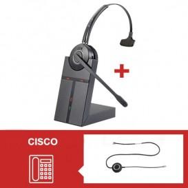 Pack auricular Cleyver HW20 para telefone Cisco Serie 79 - Segunda versão