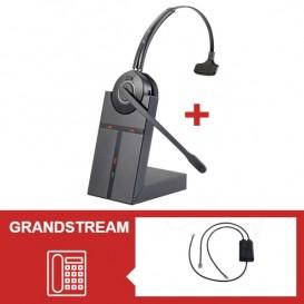 Pack auricular Cleyver HW20 para telefone Grandstream