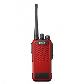 TAIT TP3300 UHF com capa vermelha