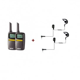 Pack CPS225 + 2 kit de auriculares BR1708