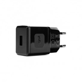 Adaptador corrente / USB Preto