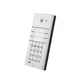 Helios IP Vario com 6 teclas, teclado e vídeo