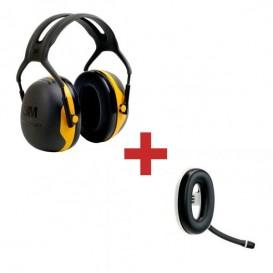 3M Peltor X2A + Micro auricular Bluetooth