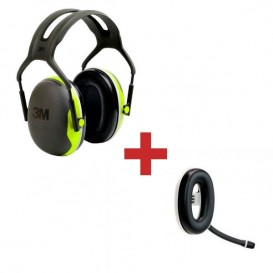 3M Peltor X4A + Micro auricular Bluetooth