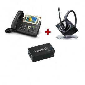 Yealink T29G + Sennheiser DW Pro 1 + Yealink EHS36