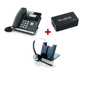 Yealink T41S + Jabra PRO 920 + Adaptador Yealink EHS36