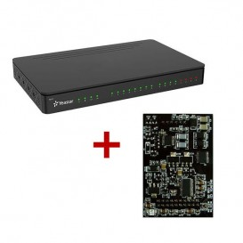 Yeastar S412 VoIP PBX + Módulo O2