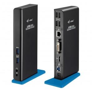 i-tec U3HDMIDVIDOCK base & duplicador de portas USB 3.0 (3.1 Gen 1) Type-A Preto