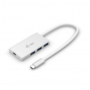 i-tec C31HUB3PD hub de interface USB 3.1 (3.1 Gen 2) Type-C 5000 Mbit/s Branco