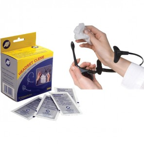 Toalhitas desinfetantes para microauscultadores
