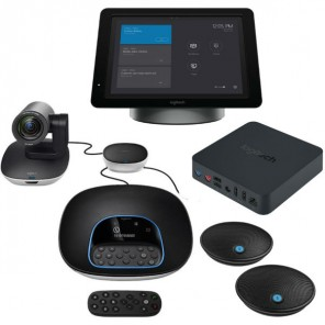 Logitech GROUP + SmartDock + Extender Box