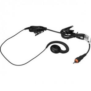 Kit auricular com PTT com clip