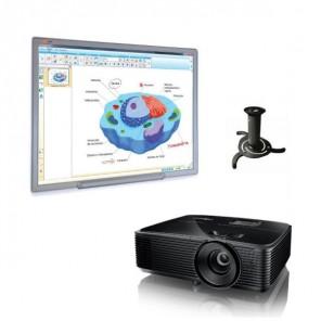 Pack Básico Multiclass Quadro MCI780 + projetor + suporte teto