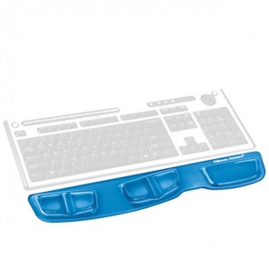Apoio de pulso com teclado de gel Fellowes