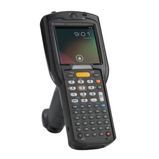 Zebra MC3200 computador móvel 7,62 cm (3'') 320 x 320 pixels Ecrã táctil 509 g Preto